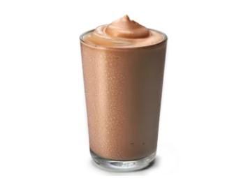 милкшейк шоколадно-ореховый в кфс