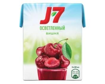сок j7 вишневый 0,2 кфс