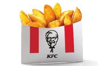 картофель по деревенски малый в кфс меню