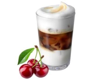 айс кофе черешня