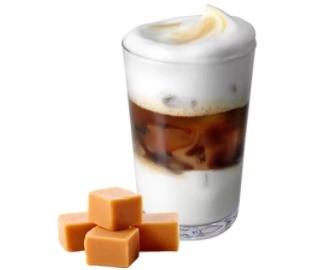 айс кофе карамель